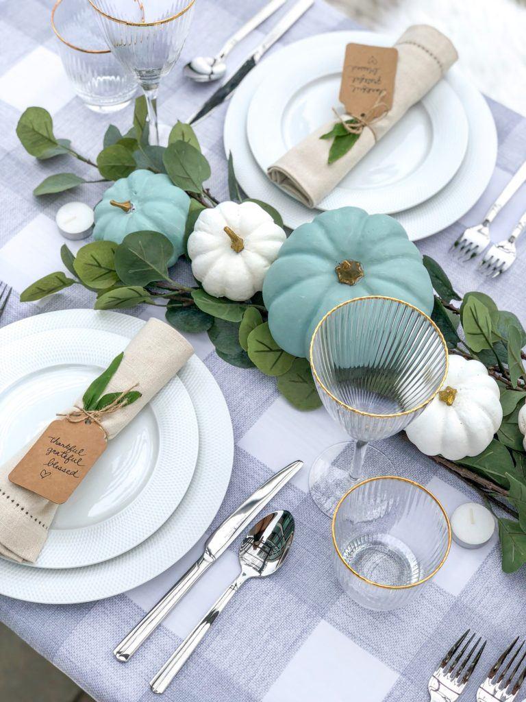 Thanksgiving Table Décor centrepiece
