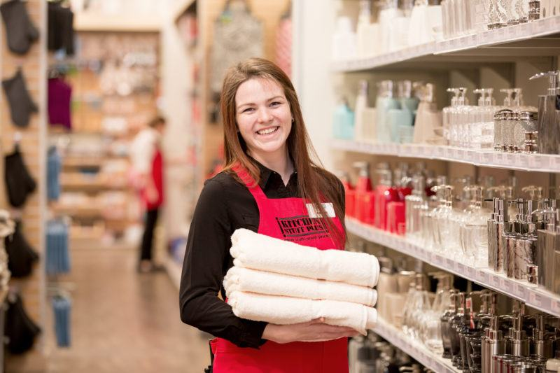 season employees in aisle - hiring great employees is what we value