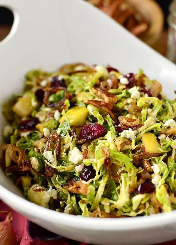brussels sprout salad side