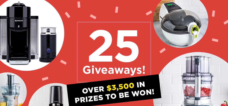 25 giveaways
