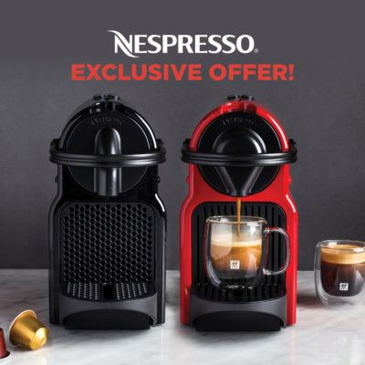 nespresso 3 day deal