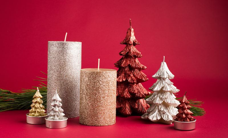 KSP Christmas Candles - assorted