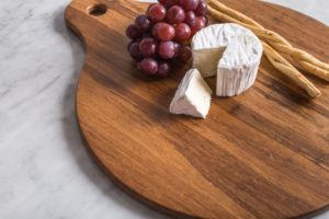 hosting cheese board