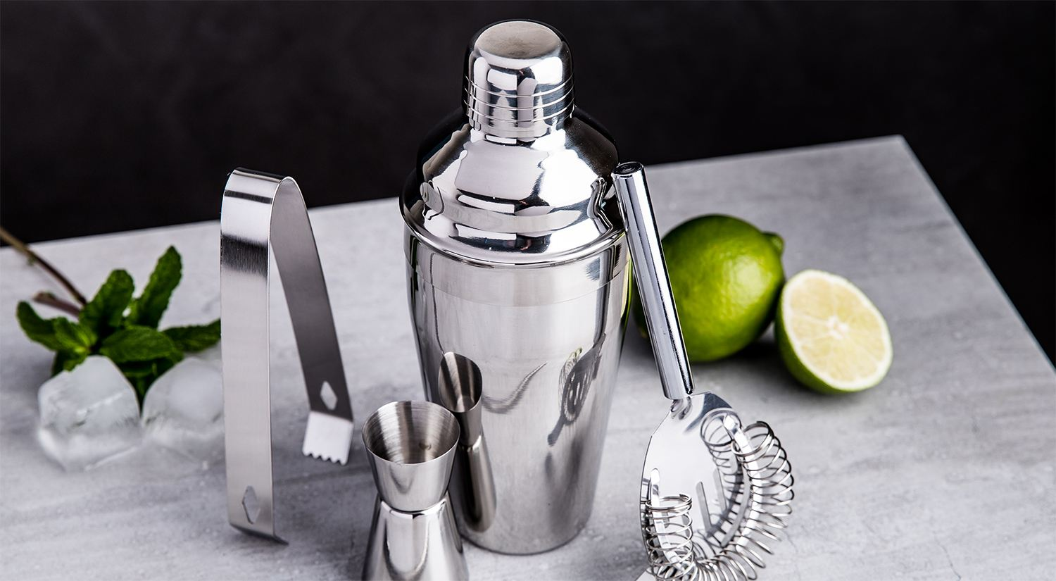 Mixy Cocktail Shaker Set