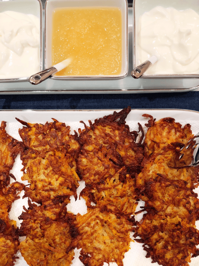 Homemade Potato Latkes Recipe