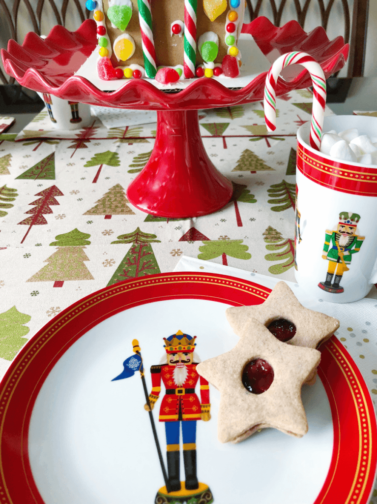 nutcracker plates and mugs