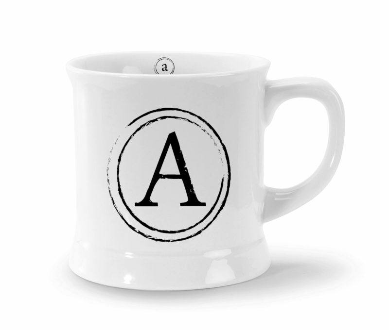 mugs - monogram style