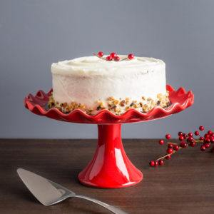 red cake plate 20 christmas gifts under $20