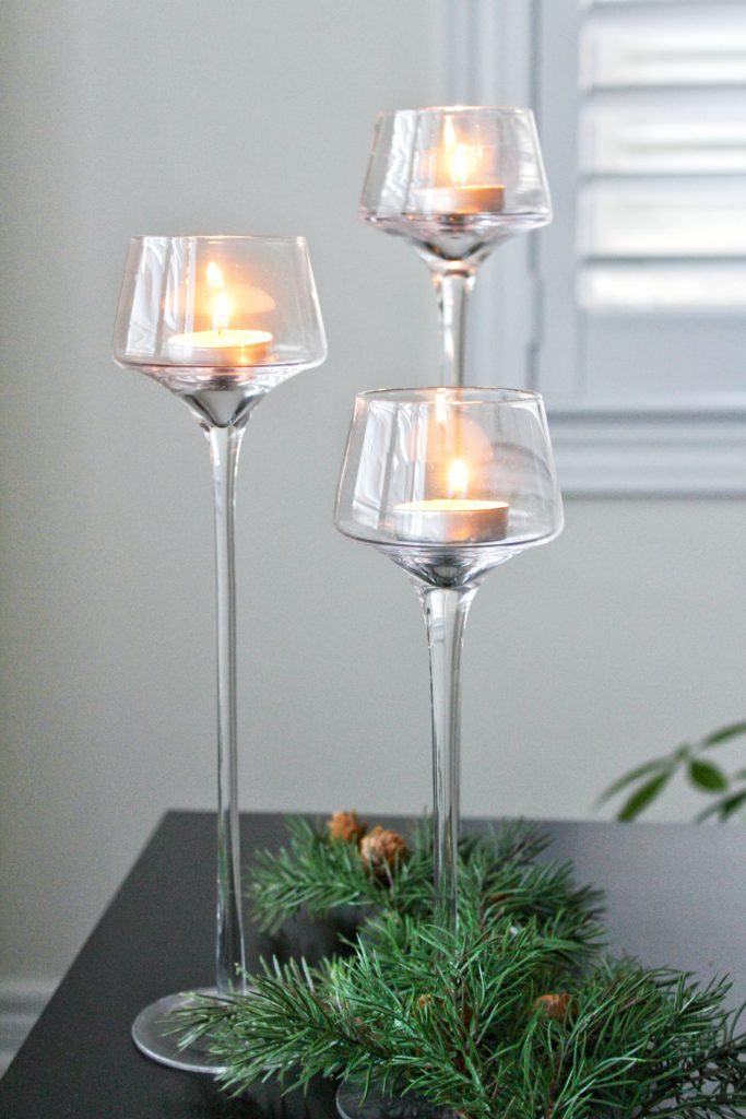 KSP Flare Tealight Holder Set, cozy decor