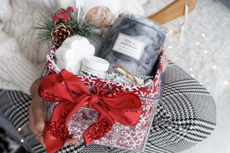 giftbasket gift wrapping