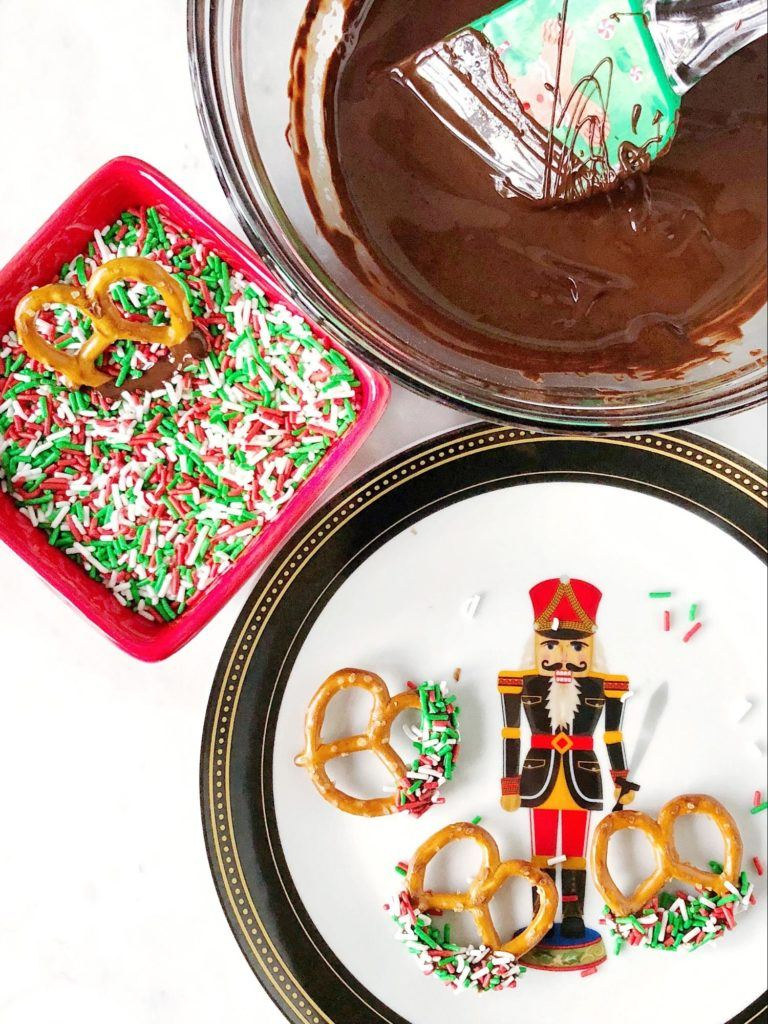 no-bake chocolate christmas treats