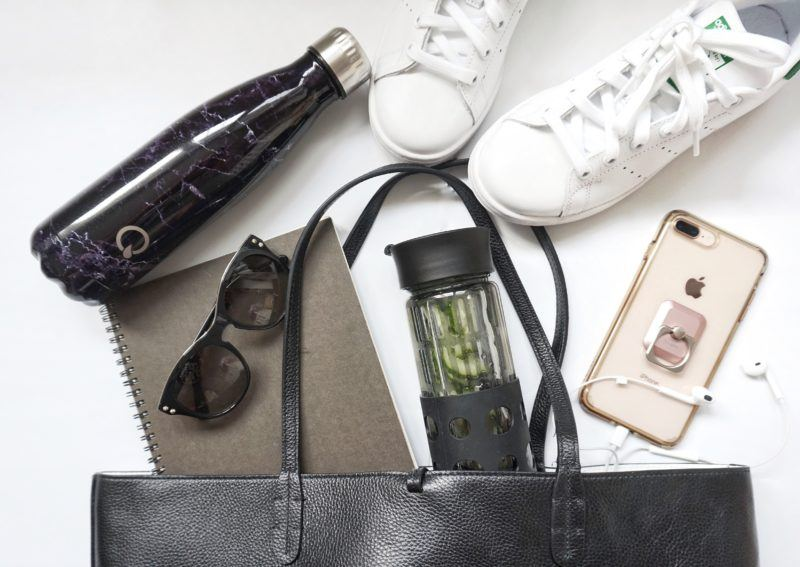 Marble Quench Water Bottle, $9.99 and Flavour Up Water Bottle, $9.99 moms gift guide