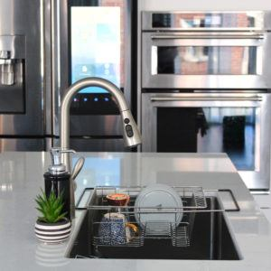Span Over The Sink Dish Rack