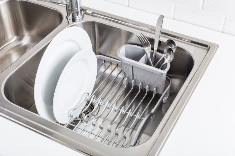 Inset Sink Dish Rack (Aluminum)