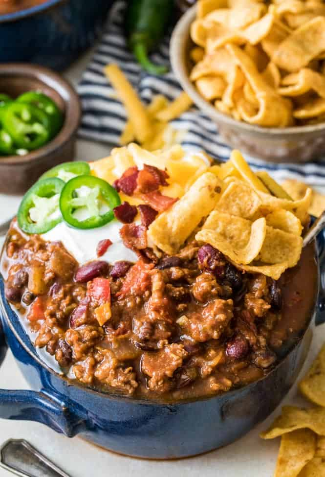 Best Chili Recipe Super Bowl Foods