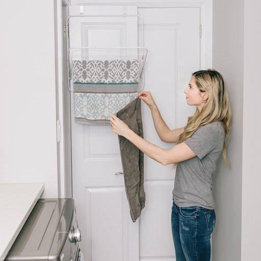 Over The Door Drying Rack Organization Sale