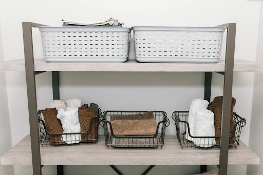 KSP Ashley Stacking Wire Basket Organization Sale laundry bins