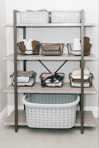 KSP Studio Bookshelf Organization Sale laundry room shelf