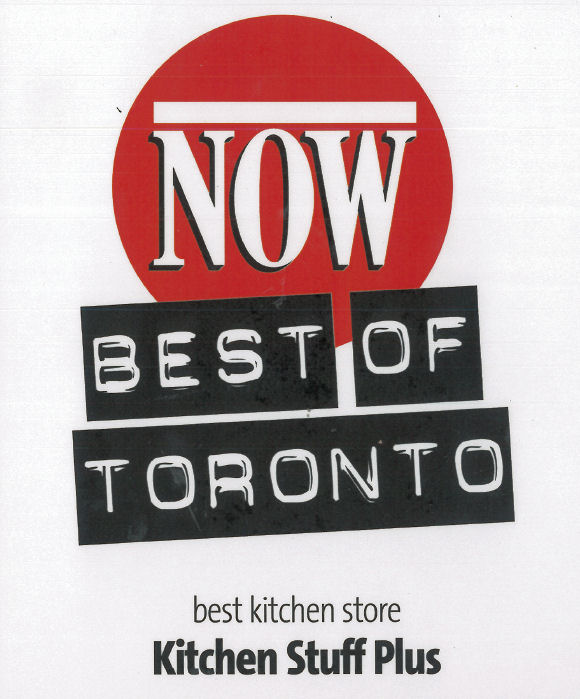 Best Kitchen Store award from Now Magazine