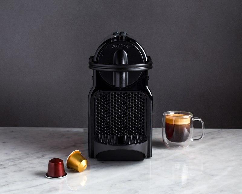 things you need black nespresso inissia espresso maker beside an espresso