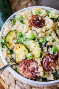 Cauliflower Rice Skillet