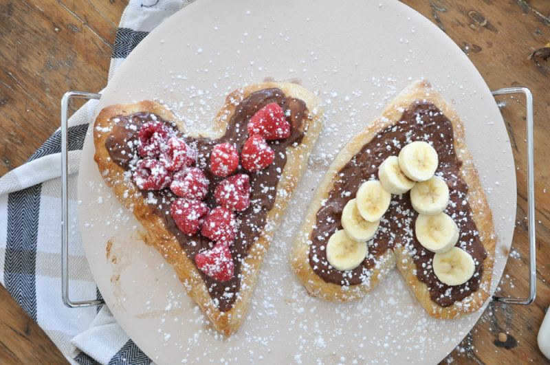 Nutella Dessert Pizza