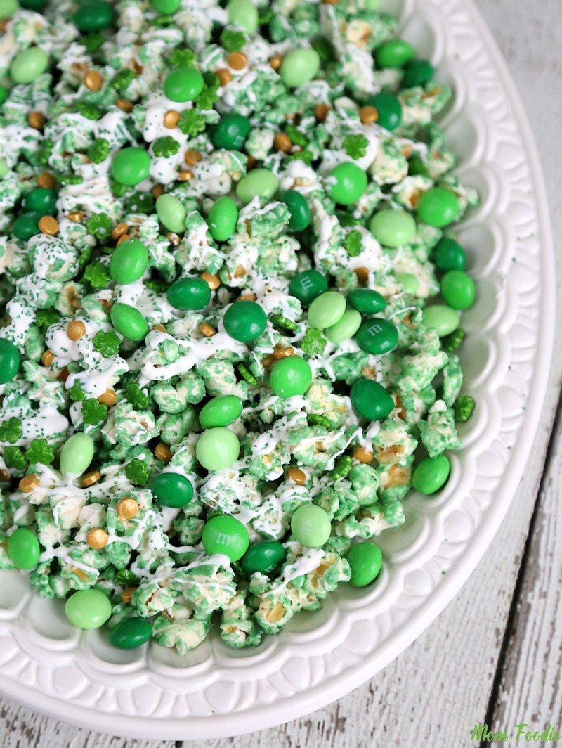 st patricks day leprechaun popcorn