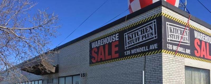 north york warehouse sale