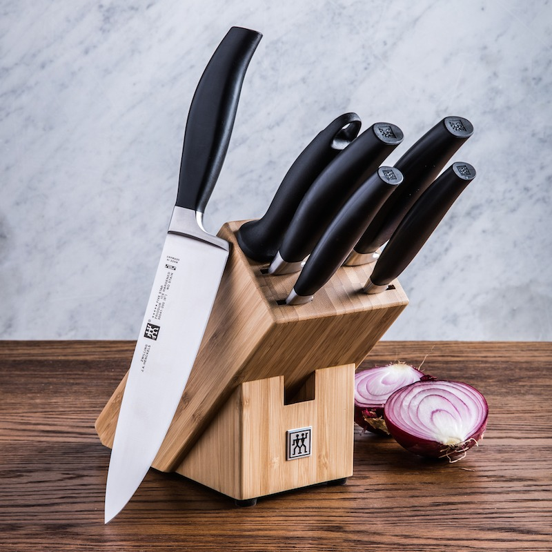 7 piece knife block set