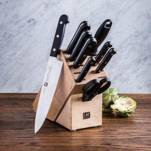 10 piece knife block set