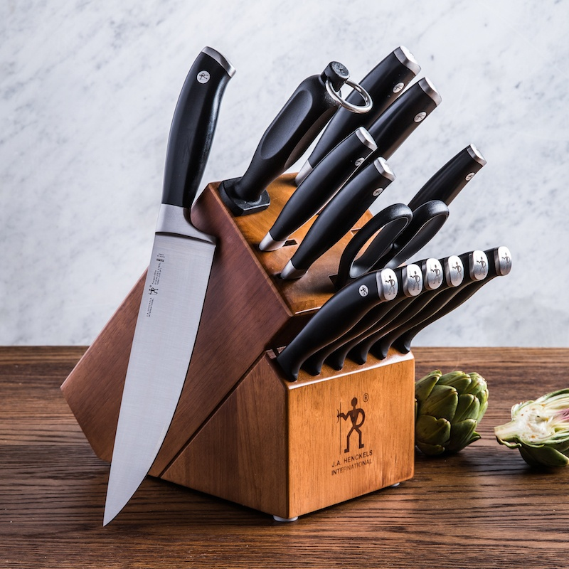 15 piece knife block set