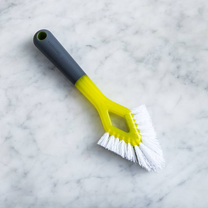 triangle shaped grout brush