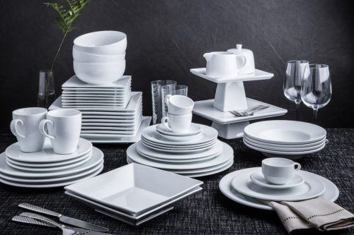 Mixed Group Dark Porcelain dishes and serveware-1500x825