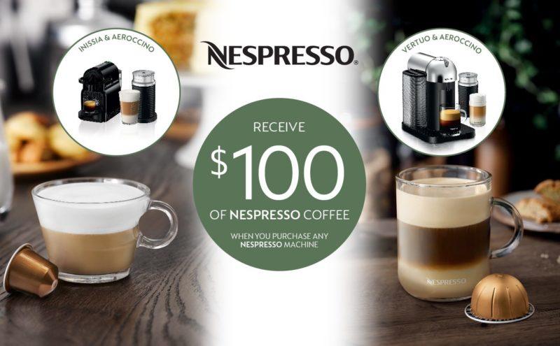nespresso spring promo