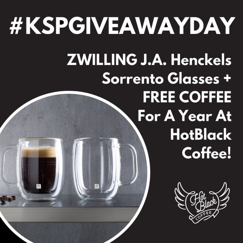 hotblack free coffee and glasses giveaway
