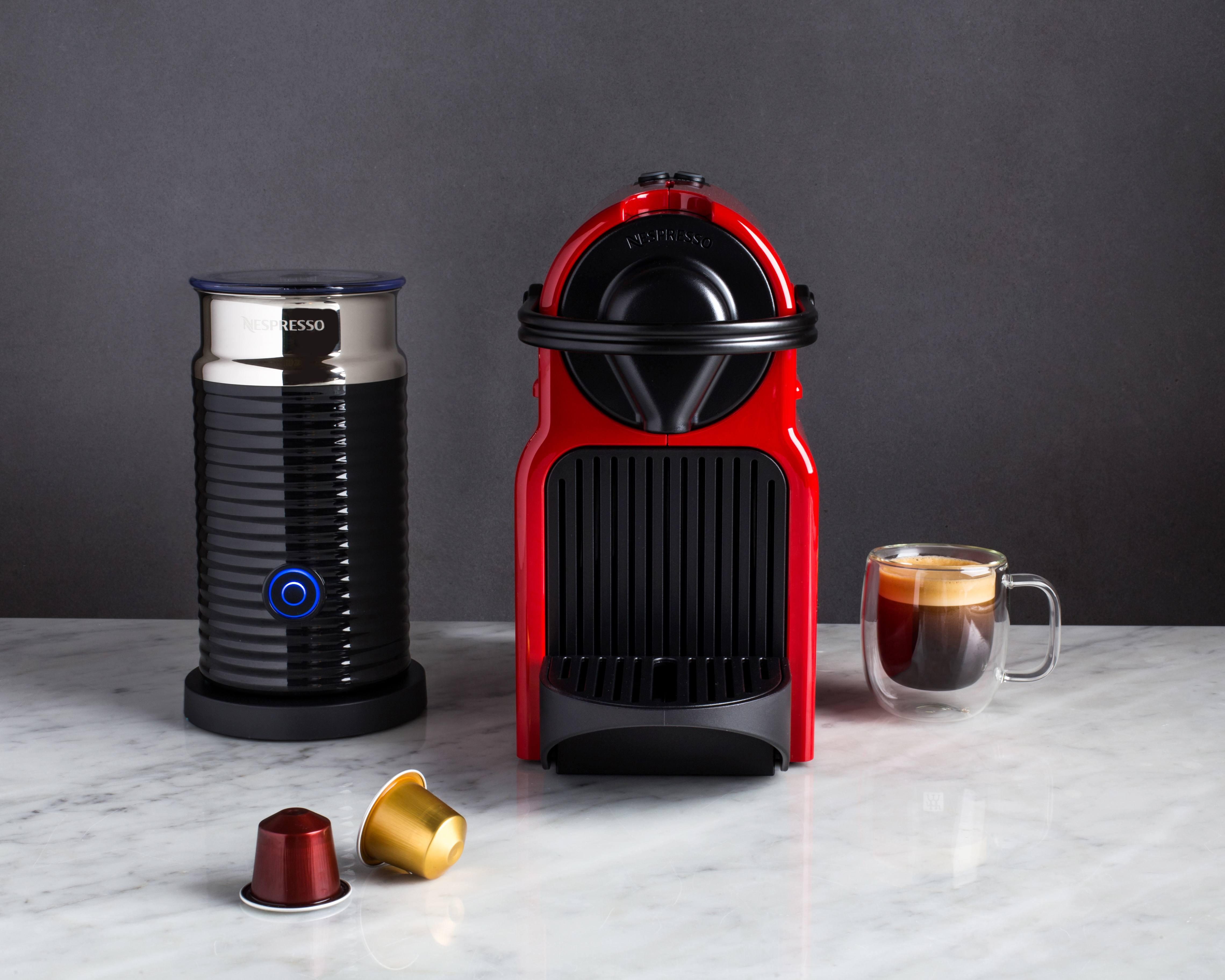 nespresso espresso machine and frother