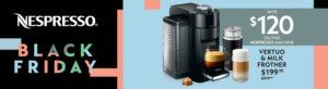 Nespresso coffee machine promo
