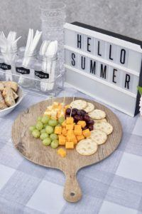 melamine cheese board