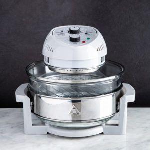 white oil-less fryer