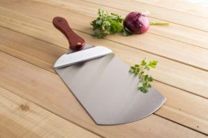 stainless steel pizza paddle