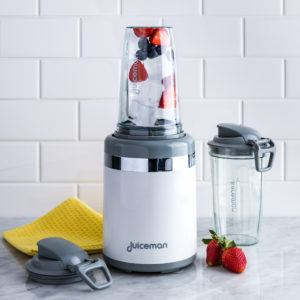 juiceman blender with ice and fruit