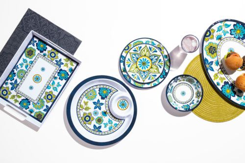 outdoor dinnerware plates and bowls
