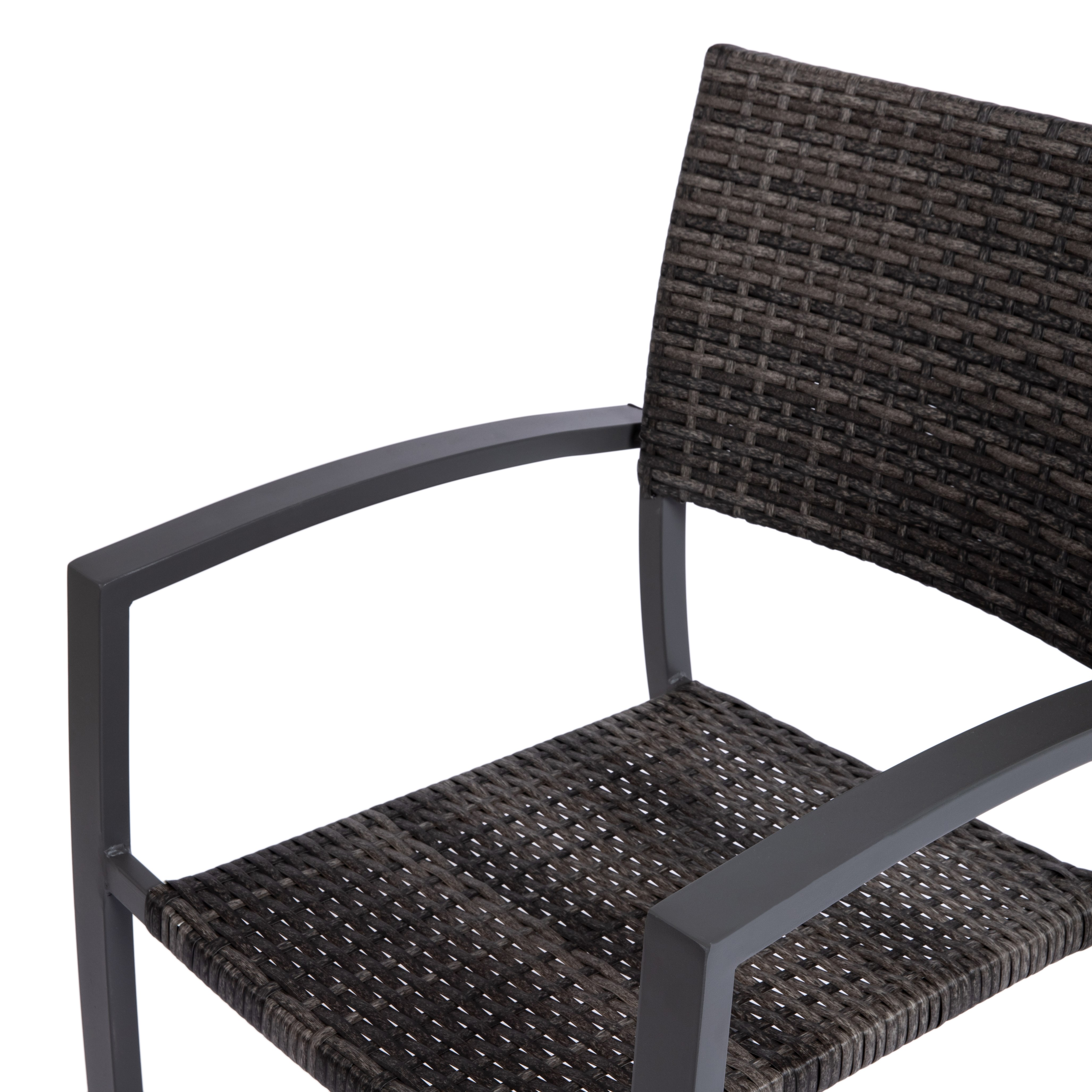 rattan-look chair