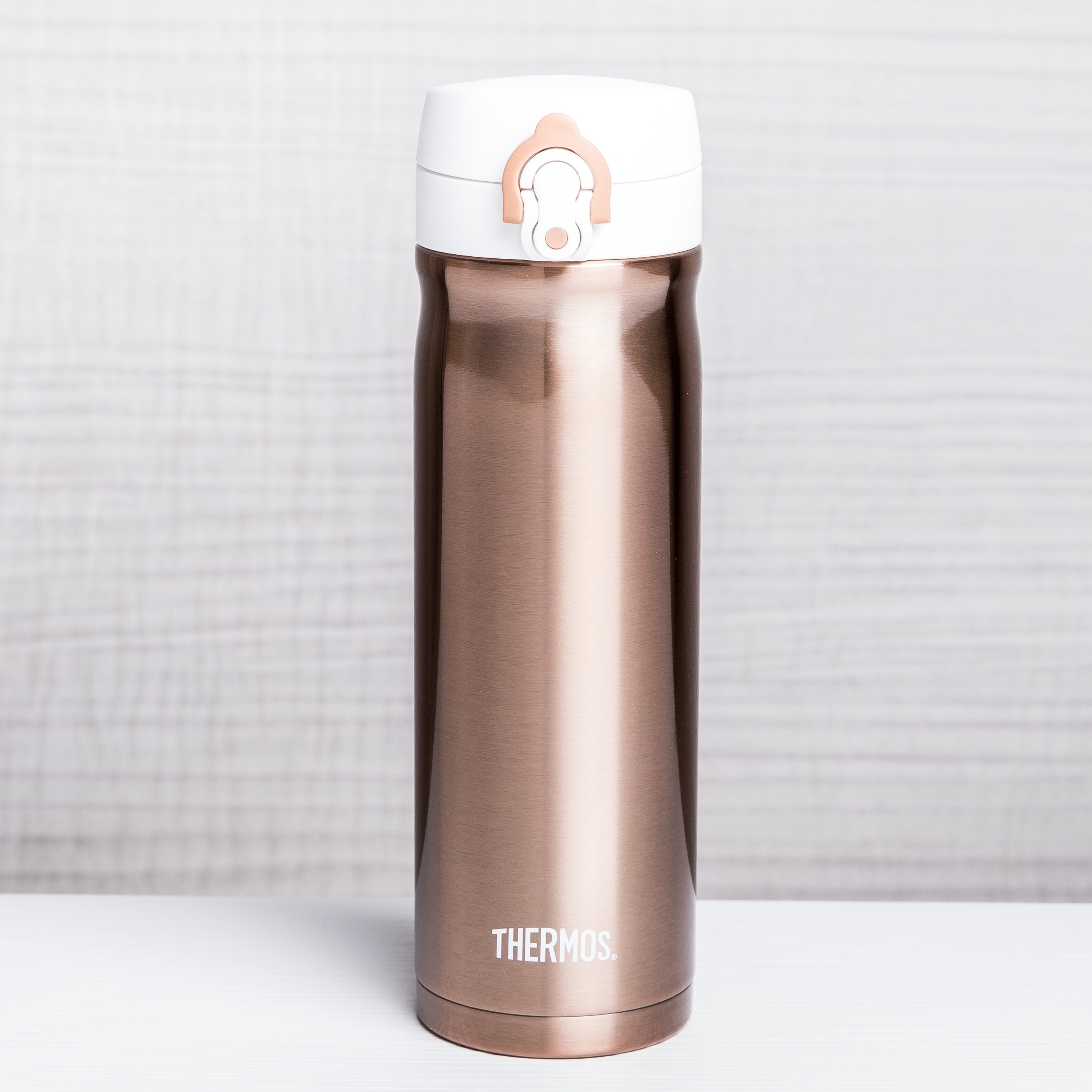 rose gold bottle dorm-friendly