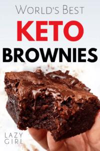 low-carb keto brownies