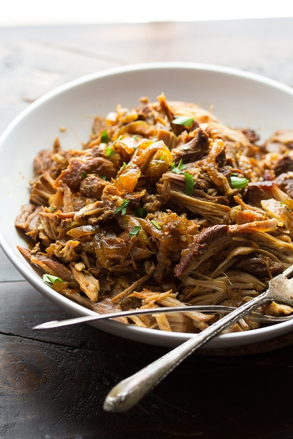 slow cooker maple pulled pork