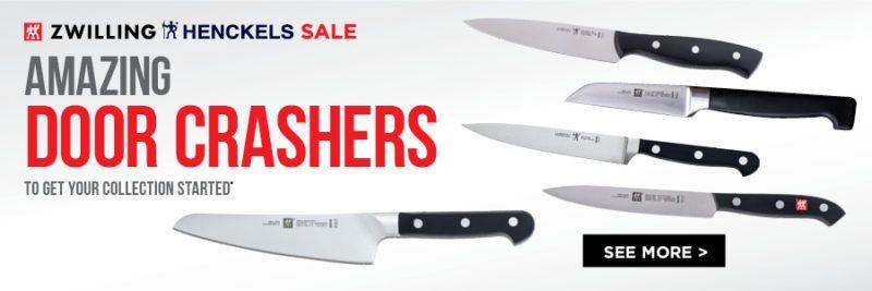 door crasher deals - zwilling & henckels