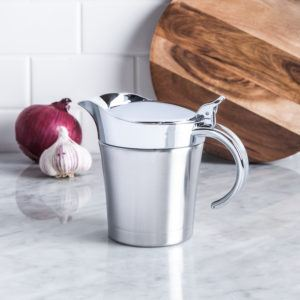 stainless steel thermal gravy boat