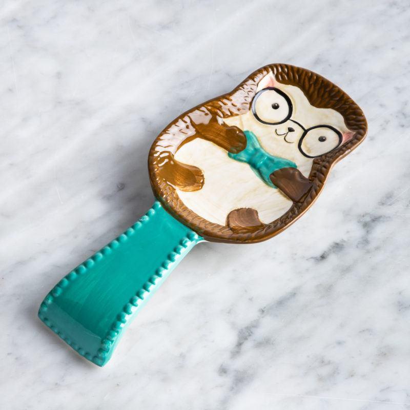 'Hedgehog' Ceramic Spoon Rest