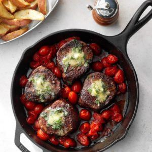 Basil-Butter-Steaks
